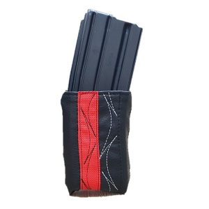 Black & Red Cartridge Magazine Pouch