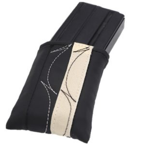 Cream & Black Cartridge Magazine Pouch